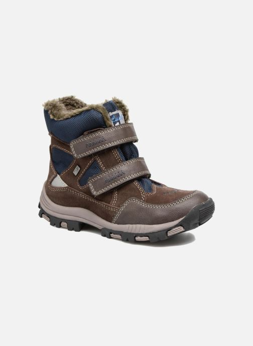 Sport shoes Lurchi by Salamander Timo-Tex Brown detailed view/ Pair view
