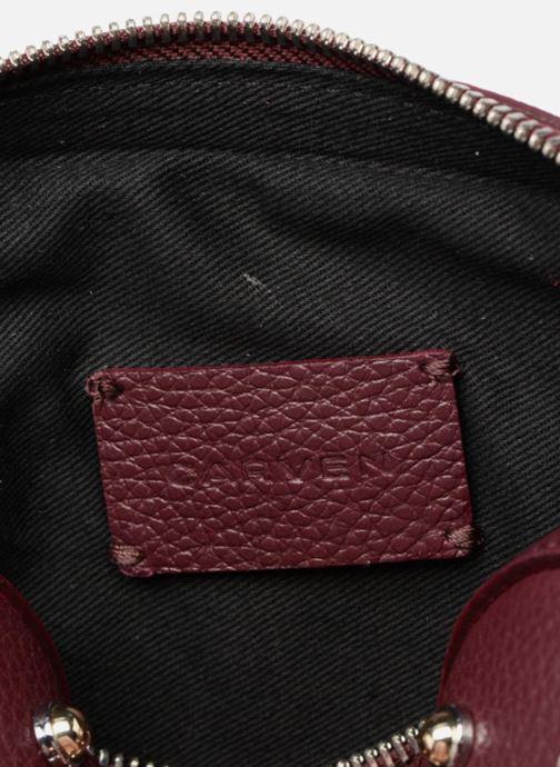 Borse Carven Mini Reporter Germain Studs Bordò immagine posteriore
