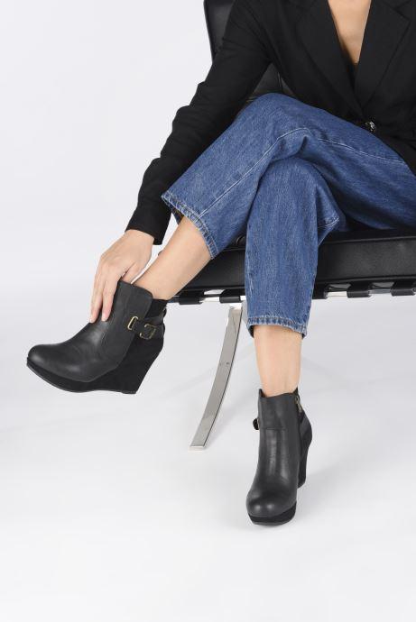 Bottines et boots Refresh Beblo Noir vue bas / vue portée sac