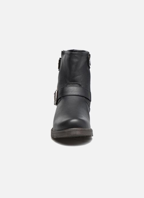 Botines  Refresh Tiglou Negro vista del modelo