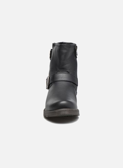 Bottines et boots Refresh Tiglou Noir vue portées chaussures