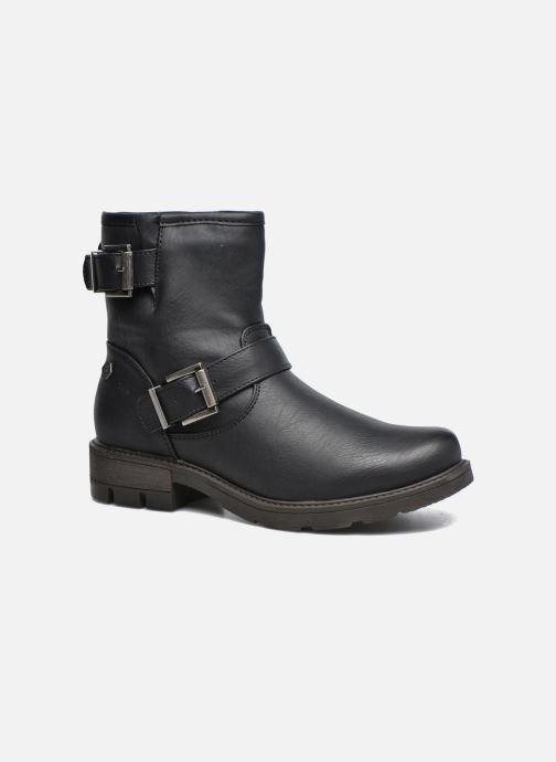 Ankelstøvler Refresh Tiglou Sort detaljeret billede af skoene
