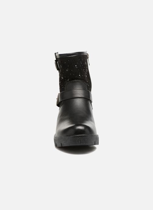 Bottines et boots Refresh Zippe Noir vue portées chaussures