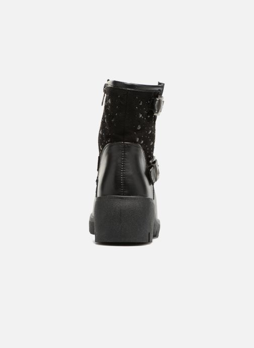 Bottines et boots Refresh Zippe Noir vue droite