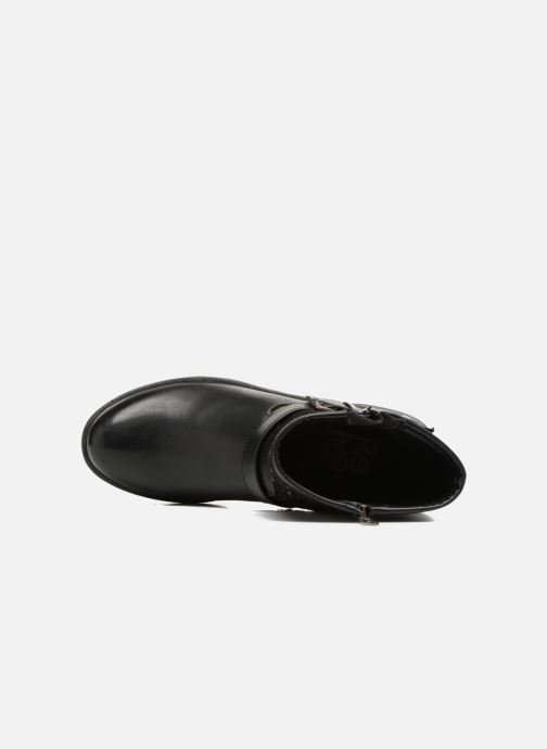 Bottines et boots Refresh Zippe Noir vue gauche