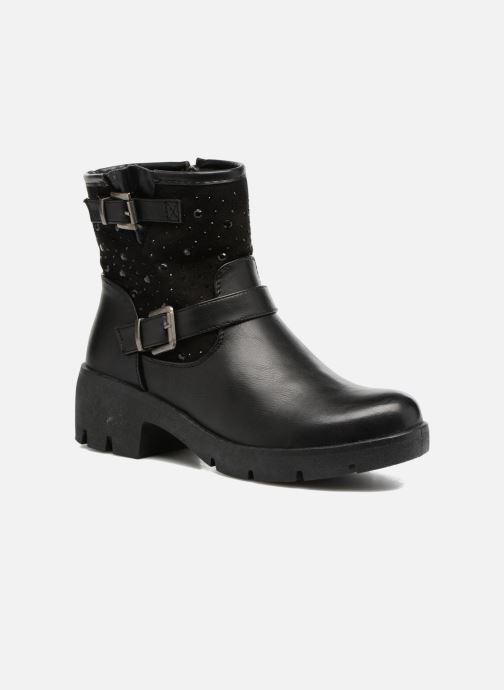 Bottines et boots Refresh Zippe Noir vue détail/paire