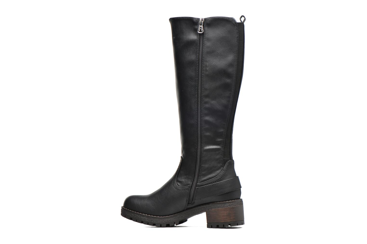 Botas Refresh Escape Negro vista de frente