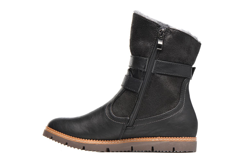 Bottines et boots Refresh Gidge Noir vue face