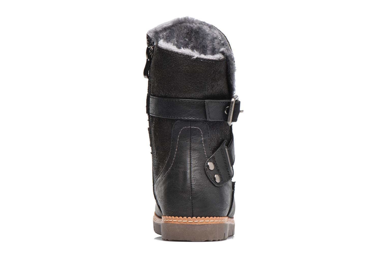 Bottines et boots Refresh Gidge Noir vue droite