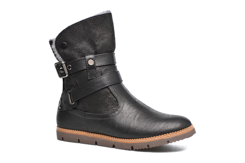 Bottines et boots Refresh Gidge Noir vue détail/paire