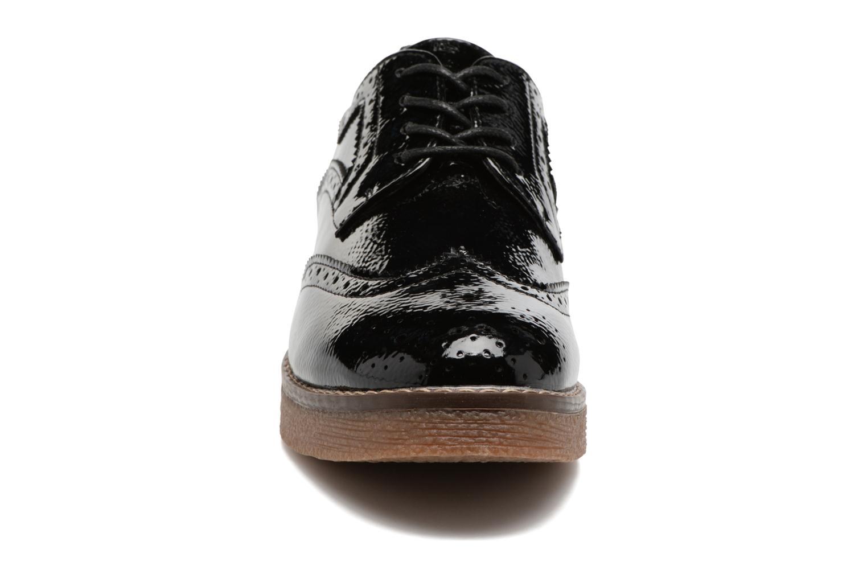 Zapatos con cordones Refresh Mulie Negro vista del modelo