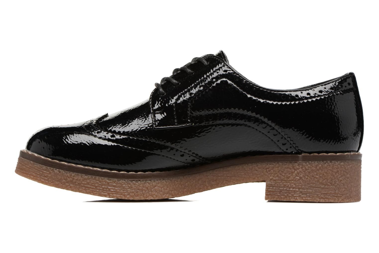 Zapatos con cordones Refresh Mulie Negro vista de frente