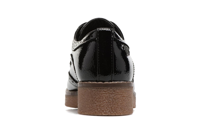 Zapatos con cordones Refresh Mulie Negro vista lateral derecha