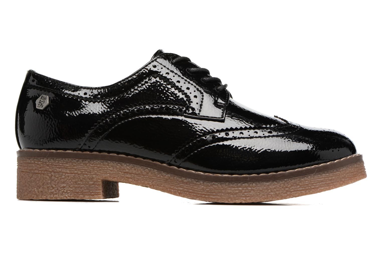 Zapatos con cordones Refresh Mulie Negro vistra trasera