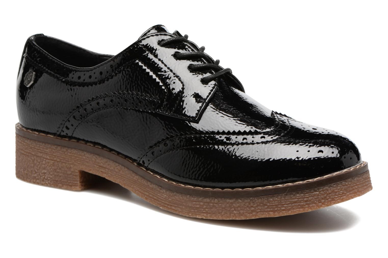 Zapatos con cordones Refresh Mulie Negro vista de detalle / par