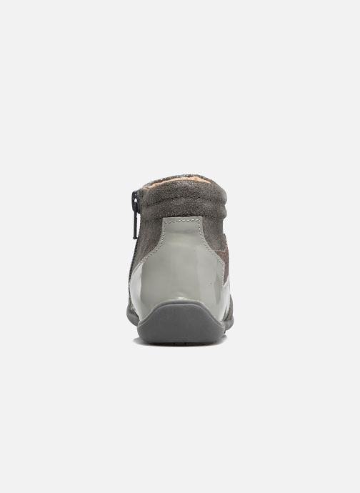 Ankle boots Chicco Gioconda Silver view from the right