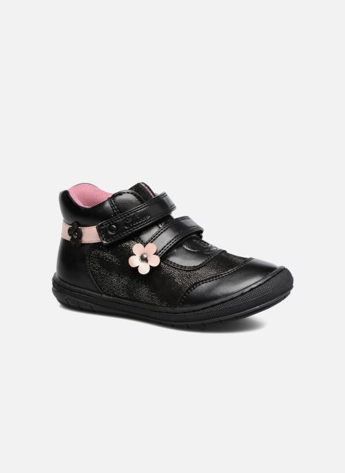 Trainers Chicco Carine Black detailed view/ Pair view