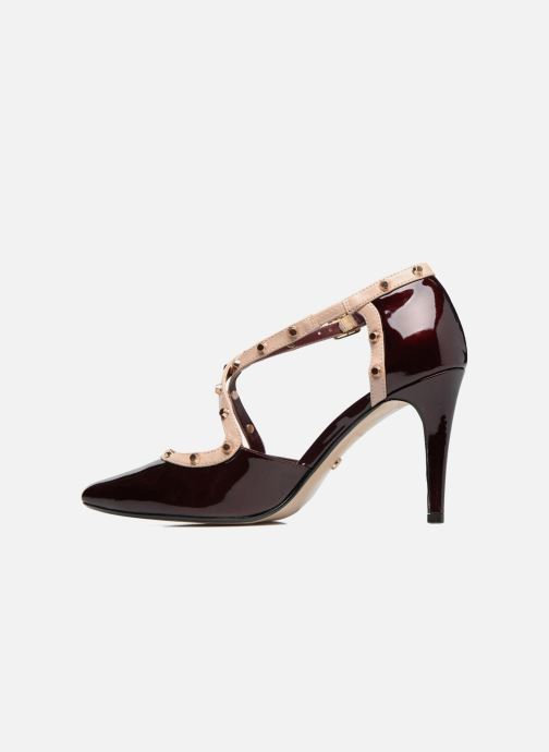 Pumps Dune London Cayleigh Bordeaux voorkant