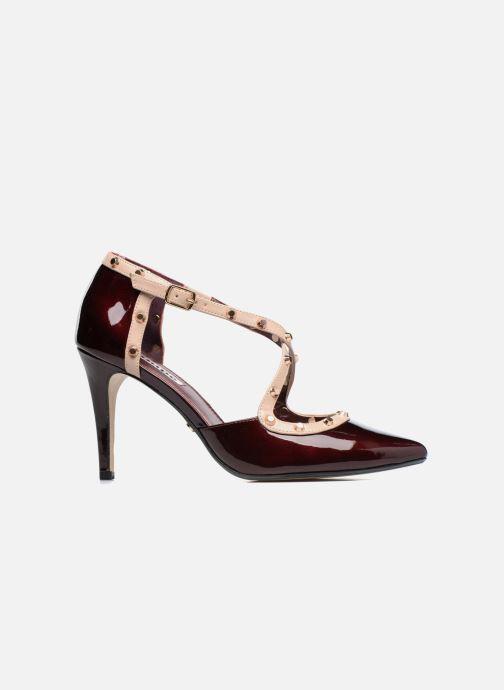 High heels Dune London Cayleigh Burgundy back view