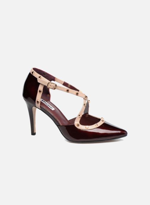 High heels Dune London Cayleigh Burgundy detailed view/ Pair view