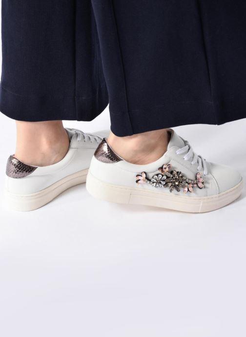 Sneakers Dune London Emerelda Wit onder