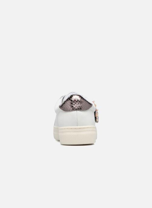 Sneakers Dune London Emerelda Wit rechts