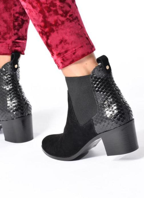 Bottines et boots Dune London Oprentice Noir vue bas / vue portée sac