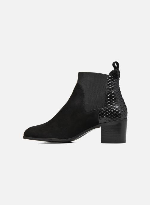 Boots en enkellaarsjes Dune London Oprentice Zwart voorkant