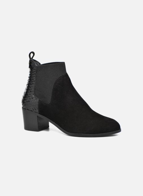 Boots en enkellaarsjes Dune London Oprentice Zwart detail