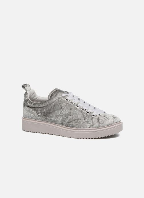 Sneakers Dune London Etch Zilver detail