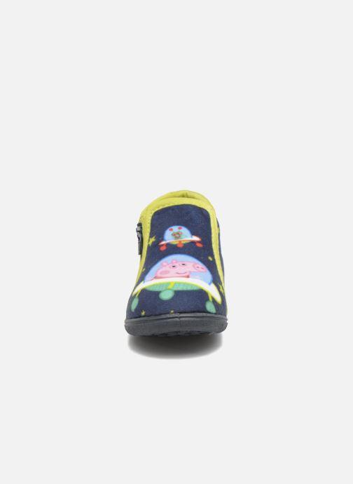 Chaussons Peppa Pig PP Robin Bleu vue portées chaussures