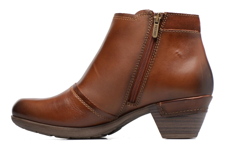 Bottines et boots Pikolinos ROTTERDAM 902-8903 Marron vue face