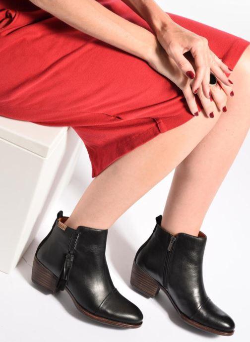 Bottines et boots Pikolinos Baqueira W9M-8941 Noir vue bas / vue portée sac