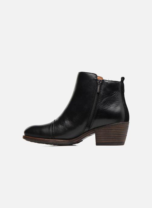 Bottines et boots Pikolinos Baqueira W9M-8941 Noir vue face