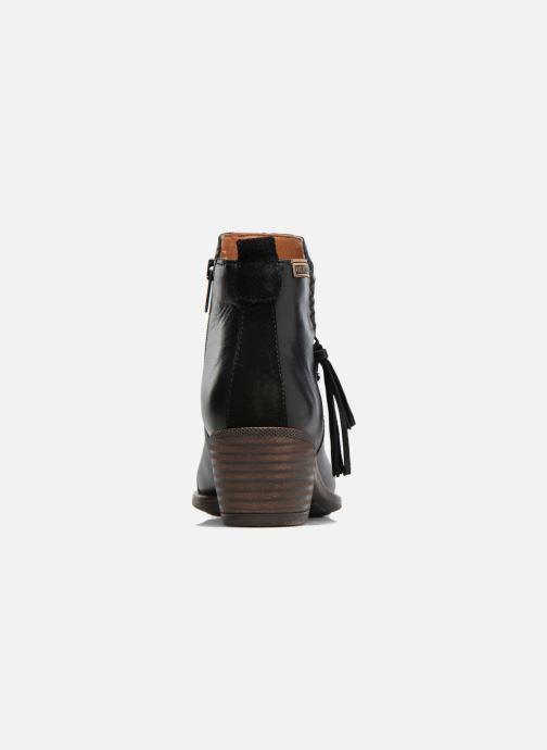 Bottines et boots Pikolinos Baqueira W9M-8941 Noir vue droite