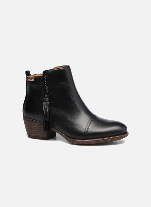 Bottines et boots Pikolinos Baqueira W9M-8941 Noir vue détail/paire