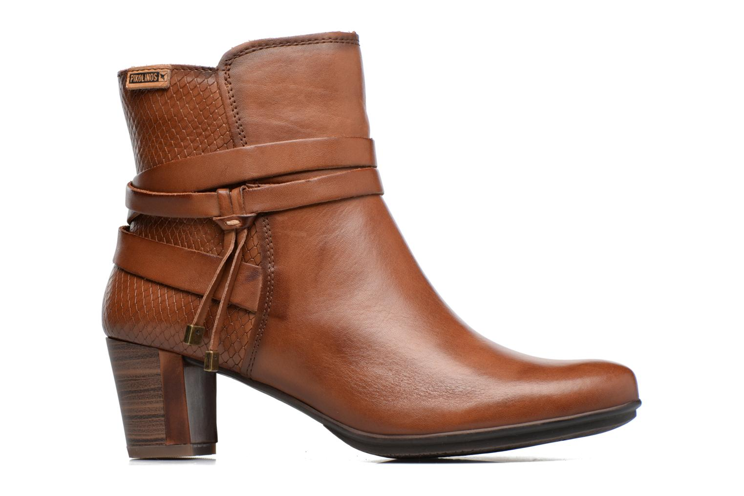 Ankle boots Pikolinos SEGOVIA W1J-8531 Brown back view