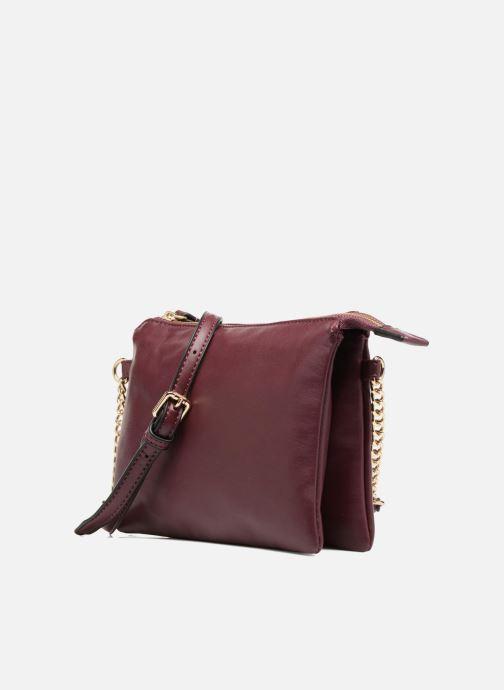 Handtaschen Georgia Rose Daphné weinrot schuhe getragen
