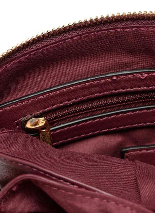 Handtaschen Georgia Rose Daphné weinrot ansicht von hinten