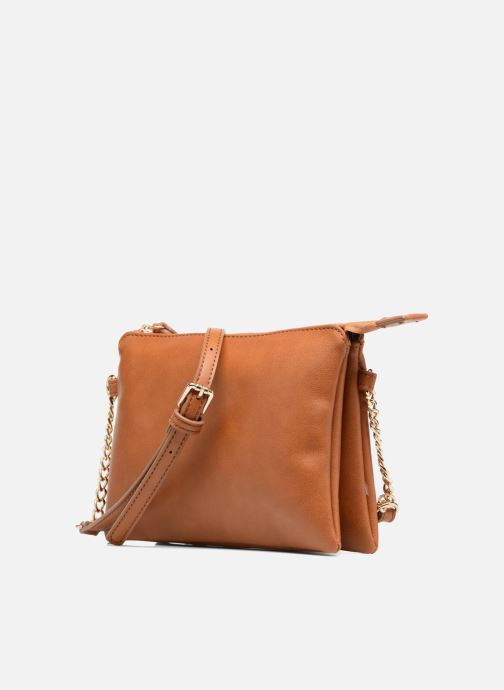 Handtaschen Georgia Rose Daphné braun schuhe getragen