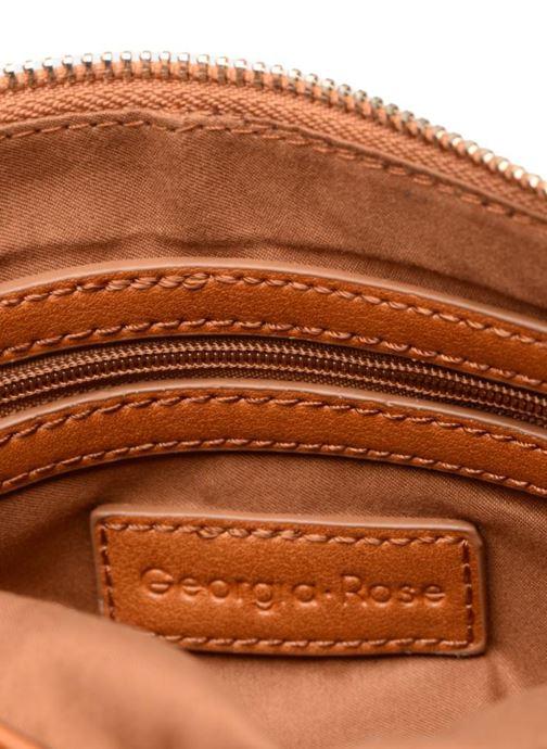 Handtassen Georgia Rose Daphné Bruin achterkant