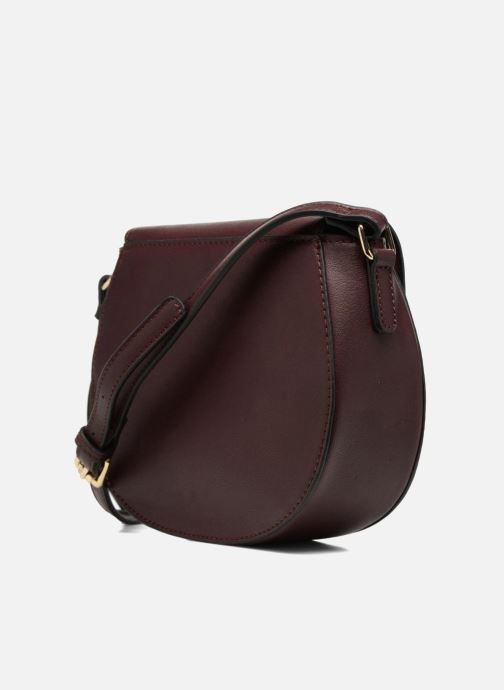 Handbags Georgia Rose Diana Burgundy view from the right