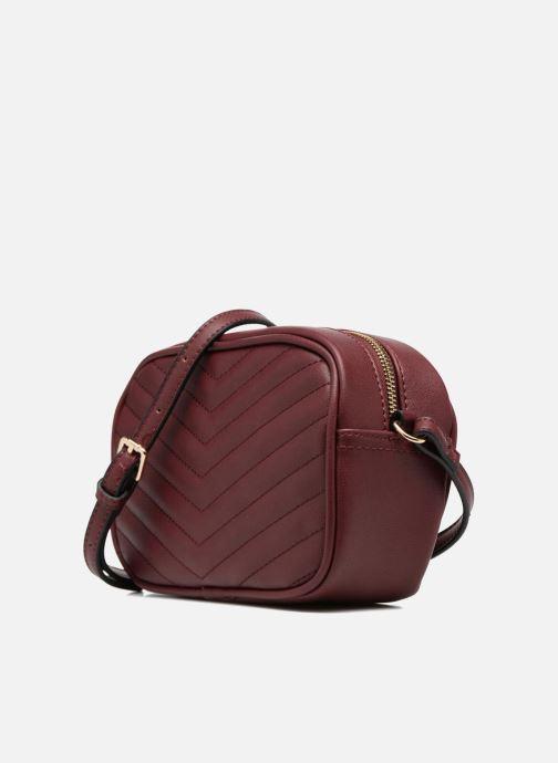 Handtaschen Georgia Rose Divine weinrot schuhe getragen