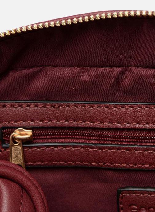Handtaschen Georgia Rose Divine weinrot ansicht von hinten