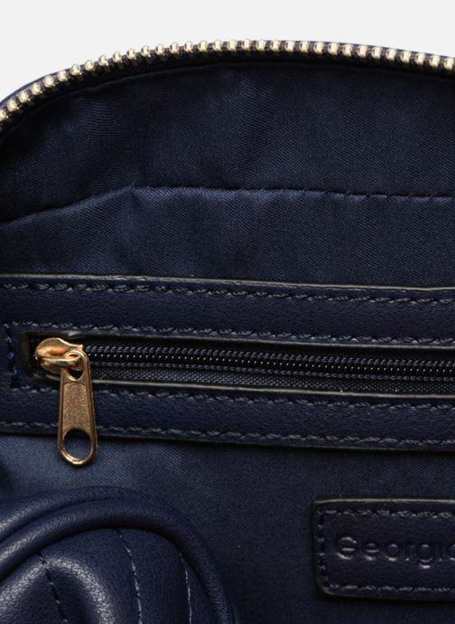 Handtassen Georgia Rose Divine Blauw achterkant