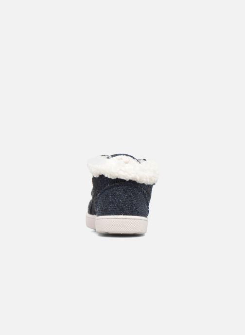 Sneaker Esprit Jojo Velcro silber ansicht von rechts