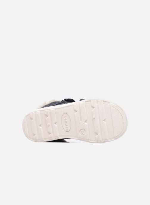 Sneaker Esprit Jojo Velcro silber ansicht von oben