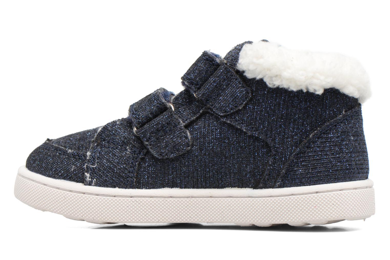 Sneaker Esprit Jojo Velcro silber ansicht von vorne