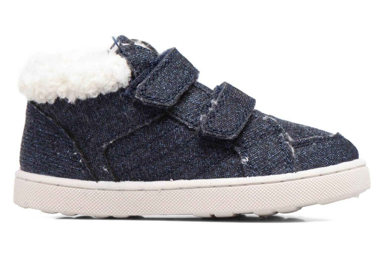 Sneaker Esprit Jojo Velcro silber ansicht von hinten