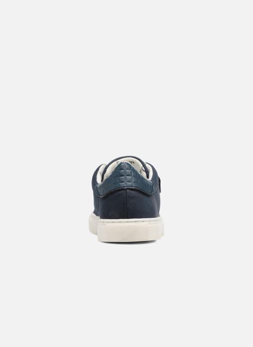 Baskets Esprit Filou Velcro Bleu vue droite
